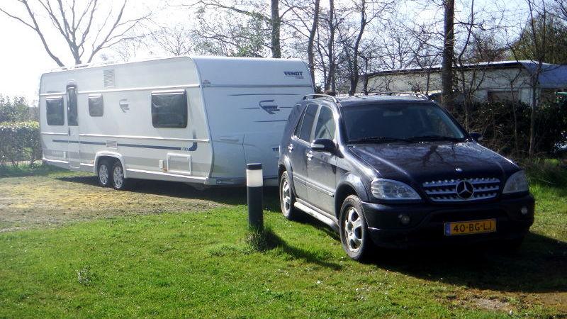 Transport van uw caravan naar onze stalling